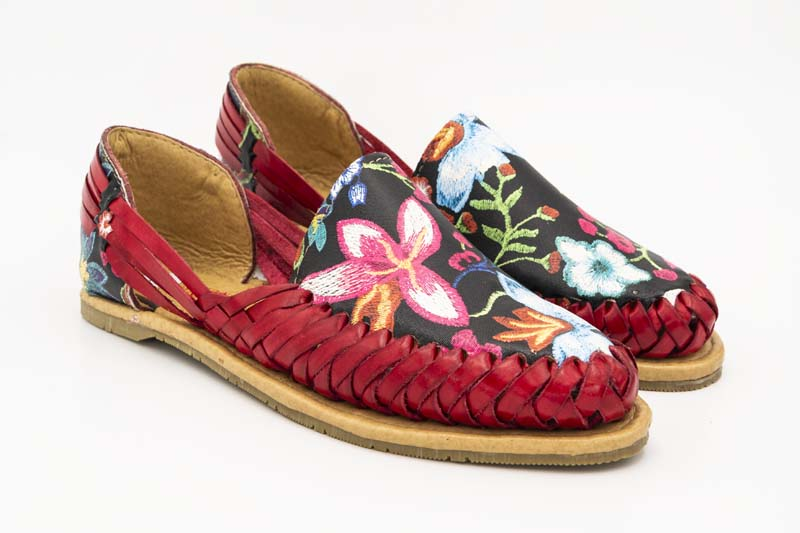 Handmade Mexican Leather Women Huaraches